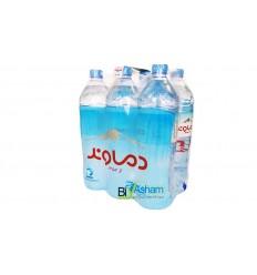 باکس 6 عددی آب معدنی 1.5 لیتر دماوند