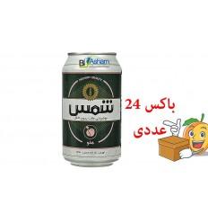 نوشیدنی شیشه ای مالت کلاسیک ساده شمس