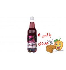 آبمیوه گازدار انگور شیرازی یک لیتری هوفنبرگ باکس 6 عددی