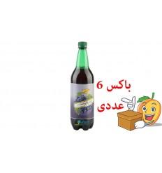 آبمیوه گازدار انگور 1.5 لیتری کاسل شمس