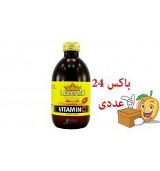 ویتامین سی  شیشه 240 میلی لیتر لئونارد بسته 24 عددی