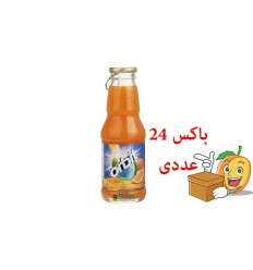 آبمیوه شیشه ای 200 میلی لیتر پرتقال ااربیت بسته 24 عددی