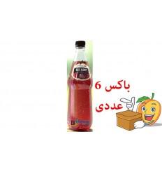 آبمیوه گازدار یک لیتری طعم لیمو بطری پلاستیکی اسکای لند