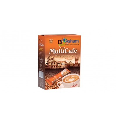قهوه 100 گرمی گلد مولتی کافه با عطر رایحه ملایم